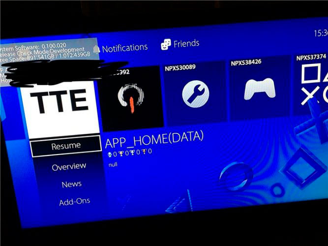 Nueva interface de PS5